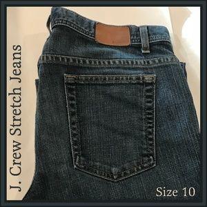🐣 J Crew Stretch Jeans Blue Denim 61426A 10